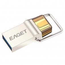 EAGET CU10 Type-C 16 32 64GB USB3.0 to Micro USB Flash Drive U Disk for Computer OTG Smart Phone