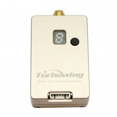 FPV 5.8G 600mW TX600 Wireless Audio Video AV Transmitter TX for UAV Multicopter Aerial Photography-Gold