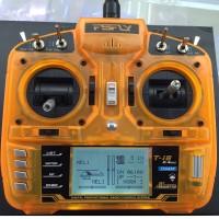 Fsfly 2.4G 8CH DSM2 DSMX Remote Controller Transmitter Digital Radio Control System with AR8000 Receiver for FPV