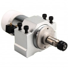 ER11 300W Air-Cooled Single Spindle Motor+48V 360W Power Supply+Motor Mount 52mm for PCB Engraving Machine DIY CNC