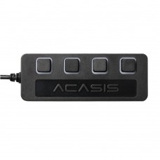 Acasis H012 4 Ports 5Gbps USB3.0 HUB Adapter Splitter for Computer Tablet PC with Switch