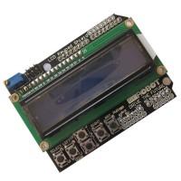 LCD Keypad Shield LCD1602 LCD 1602 Module Display for ATMEGA328 ATMEGA2560 Raspberry Pi UNO Blue Screen