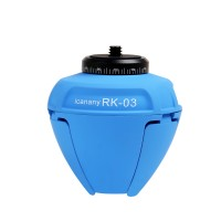 Icannany RK03 Wirless Bluetooth Self-Timer 360 Degree Rotate Auto Face Panorama Selfie Robot for Android IOS