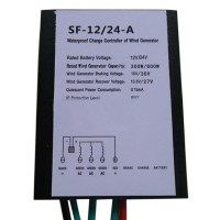 600W 12V 24V Waterproof Self-Adaptive Wind Turbine Generator Charge Controller