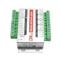 Mini Version Upgrade XHC MK3 CNC Mach3 USB 3 Axis Motion Control Card Breakout Board 200KHz Support Windows 7
