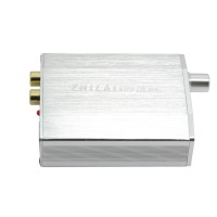 ZHILAI H8 Computer USB External Sound Card DAC Decoder Amp HIFI Desktop Audio Sound Card Silver