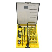 JK6089-A 45 in 1 Magnetic Precision Torx Screwdriver Set Repair Tool Kit for Cell Phones PSP Xbox 360