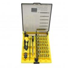 JK6089-A 45 in 1 Magnetic Precision Torx Screwdriver Set Repair Tool Kit for Cell Phones PSP Xbox 360
