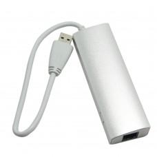 Super Speed USB3.0 Combo Gigabit Ethernet Network Adapter+3 Ports HUB 5Gbps for Macbook PC Laptop