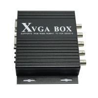 Industrial Monitor Video Converter Black XVGA Box CGA EGA RGB RGBS RGBHV to VGAGBS-8219 D5219A Eshow