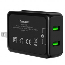 Tronsmart Quick Charger QC2.0 2 Ports USB Wall Desktop Charger for Phones Tablet PC