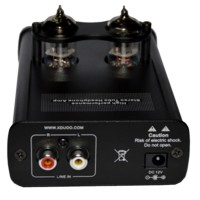 XDUOO TA-02 DC12V High Performance 6J1x 2 Stereo Tube Headphone Amplifier for Audio