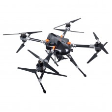 X-CAM STD FQ700X8 PRO 4-Axis Umbralla Folding Carbon Fiber Quadcopter for FPV Multicopter