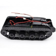 Mini Toy Tank Robot Chassis Smart Track Caterpillar Tractor for WIFI Car DIY