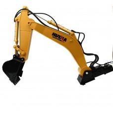Robot Manipulator 6 Channels Excavator Arm w/3 Motors for Excavating Machinery DIY