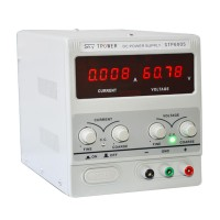 Adjustable Power Supply 60V 5A 110V Precision Variable DC Digital Lab with Clip STP6005H 4 1/2 LED Display