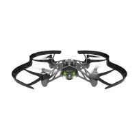 Parrot Airborne Night Drone 4-Axis Quadcopter Minidrone with Dual LED Headlight for FPV-Grey