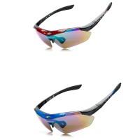 ROBESBON Outdoor Sports MTB Road Mountain Cycling Riding Bicycle Bike UV400 Sun Glasses Eyewear Goggles 5 lens