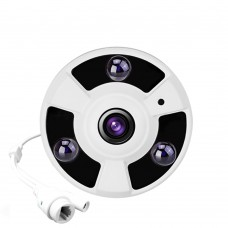 FishEye 5MP 1.7mm Lens 960P IMX222 Optional ONVIF 360 Degree Panoramic IP Camera Night Vision P2P