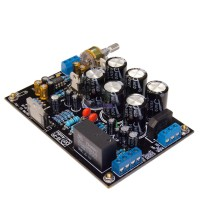 Unassembled G006 NES5532+LM4766T Merged Amplifier Board with Speaker Protection Kit for DIY Audio