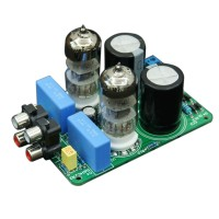 QJ009 6N3 Preamp Electron Tube Amplifier Board Spare Kit for Audio DIY