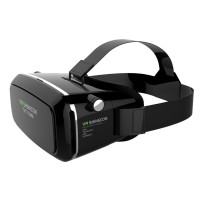 VR Shinecon 3D Glasses Google Cardboard HD Glasses for 3.5-6.0 inch Phone+Bluetooth Wireless Mouse Gamepad VR BOX 3.0