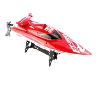 FT012 2.4G Brushless RC Racing Boat RTR Speedboat Upgraded FT009-Red