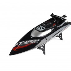 FT012 2.4G Brushless RC Racing Boat RTR Speedboat Upgraded FT009-Black