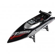 FT012 2.4G Brushless RC Racing Boat RTR Speedboat Upgraded FT009-Black