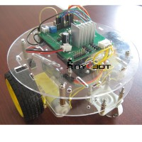 Anycbot Acrylic Car Chassis Smart Car Development Kit Bluetooth Robot for Arduino DIY