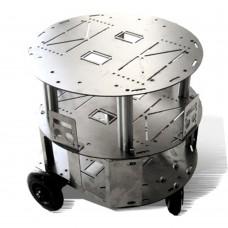 Anycbot Robot Development Platform Smart Car ROS Robotics Track Vehicle Chassis 3 Layers Kit for DIY