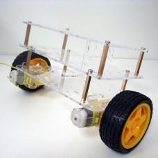 Anycbot Self-Balance Smart Car Chassis 3 Layers Two Drive Wheels Kit for DIY