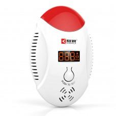 KERUI Wireless LED Digital Display Carbon Monoxide Gas Sensor CO Detector Alarm Gas Warning Alarm Monitor