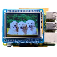 Raspberry Pi 2.4inch Touch Screen 320x240 LCD Monitor Compatible with Raspberry Pi B+ for DIY