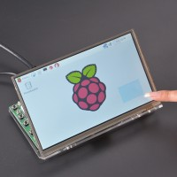 Raspberry Pi 7 Inch LCD Touch Screen HDMI HD 1024 * 600 Display Module Kit without Housing Bracket