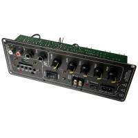 605 Amplifier Board DC12V 220V Audio Panel Main Board Two Speaker Sockets for DIY