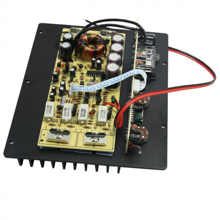 200w full tone subwoofer main board power amplifier 12v bass amp for 8 10 12inch audio diy. Black Bedroom Furniture Sets. Home Design Ideas