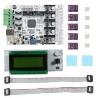 3D Printer GT2560 Mainboard Arduino MEGA 2560 Assembled Board GT2560+DRV8825 Drive+LCD2004 Kit
