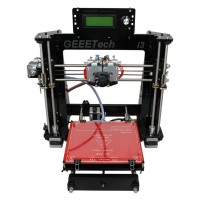 Upgraded Version Acrylic I3 Pro C Dual Extruder Double Color MK8 Prusa Mendle 3D Printer