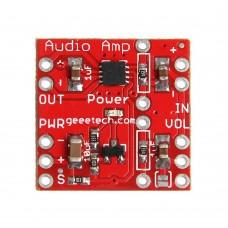 TPA2005D1 Single Channel Audio Amplifier Board Class D AMP Shutdown Input for DIY