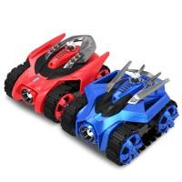 SGALAXY ZEGA Z-1001 Smart Remote Control RC TANK Car WIFI Kids Toys Gift VS Skylanders Leo&Gondar 2-Pack
