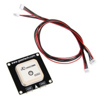 CRIUS Geeetech LEA-GPS & MAG GPS Module for Flight Control APM Pixhawk with Cable