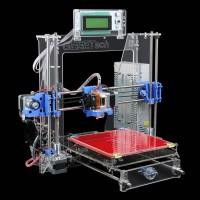 Generation Auto Leveling Prusa I3 3D Printer DIY kit P802MA High Precision Reprap Print Size 220x220x180mm