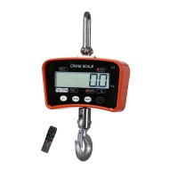 Tianchen Infrared Remote Control Solid Scale Portable Crane Scale LCD Display Hanging Capacity 1000kg Electronic Balance