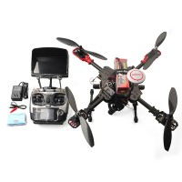 F450 Pro 4-Axis Quadcopter Frame Kit with 3-Axis Gopro Remote Controller Landing Gear for FPV