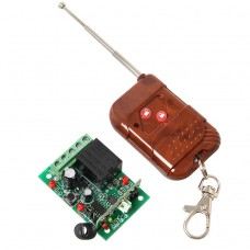 Geeetech DC12V 1 Channel Relay Remote Control Module 1 CH RF Receiver +Transmitter