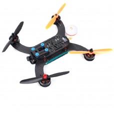 SEXTANTIS-S230 Mini 4-Axis Carbon Fiber Quadcopter Kit w/Monitor ESC Motor UAV for FPV