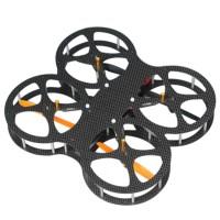 New L160-2 2.4G 6CH Carbon Fiber FPV RC Remote Control Quadcopter BNF Version