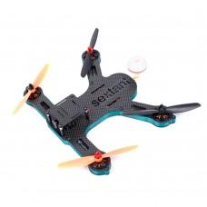 SEXTANTIS-L230 Mini 4-Axis Carbon Fiber Quadcopter Kit w/Monitor ESC Motor UAV for FPV BNF Version