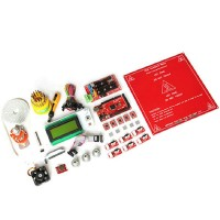 3D Printer Kit Mega2560 Ramps1.4 A4988 LCD2004 Hotend Endstop MK2a Heatbed DIY Suite